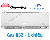 Điều hòa nagakawa 12000btu 1 chiều inverter NIS-C12R2T01 gas R32 model 2020 giá rẻ