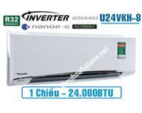 Điều hòa panasonic U24VKH8 24000btu 1 chiều inverter