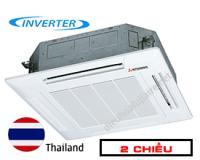 Điều hòa âm trần cassette Mitsubishi Heavy 34000btu 2 chiều inverter FDT100VG