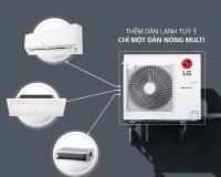 Điều hòa dàn nóng multi LG A2UQ18GFDO 18000btu 1 chiều inverter Thái Lan