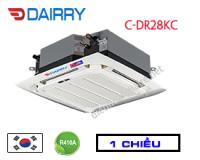 Điều hòa âm trần cassette Dairry 28000btu 1 chiều C-DR28KC