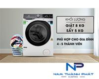 Máy giặt sấy Electrolux 8kg inverter EWW8023AEWA