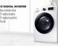 Máy giặt Samsung Inverter 8 kg WW80J54E0BW/SV