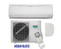 Điều hòa General 18000BTU 1 chiều inverter ASGA18JCC gas R410A