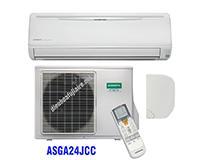 Điều hòa General 24000BTU 1 chiều inverter ASGA24JCC gas R410A