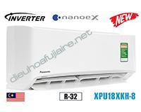 Điều hòa Panasonic inverter 18000BTU 1 chiều XPU18XKH-8
